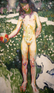 František Kupka, La Petite fille au ballon