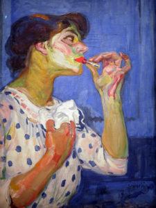 František Kupka, Le Rouge à lèvres n°II