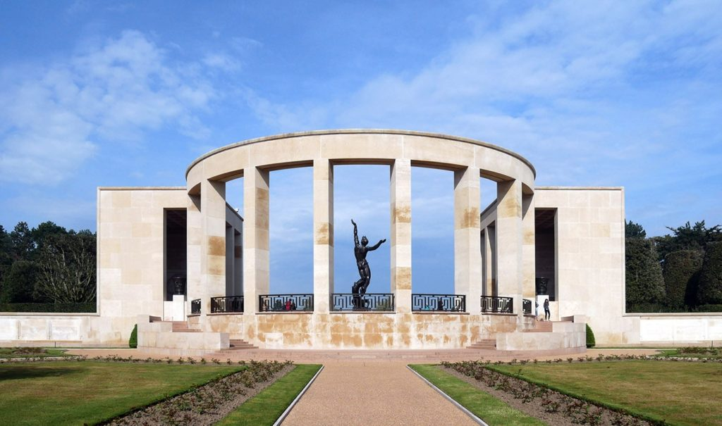 Memorial of the Normandy American Cemetery