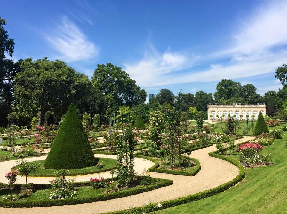 Bagatelle garden near Paris