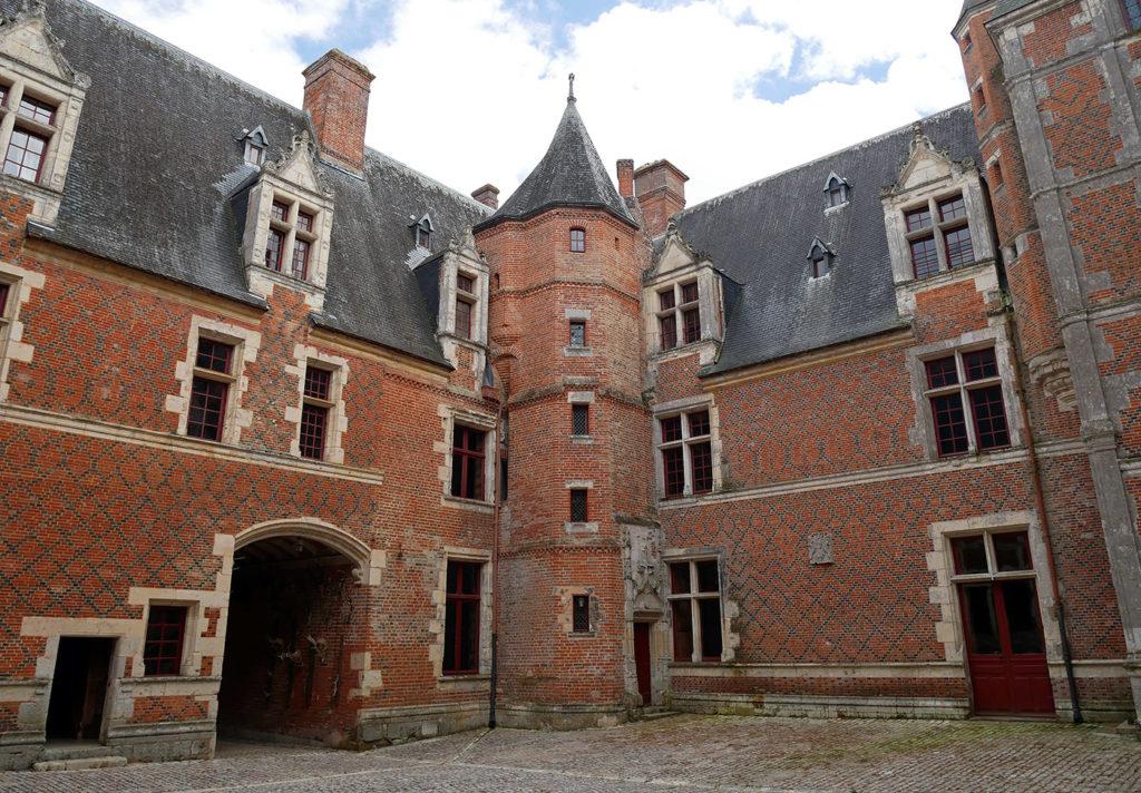 Château de Villebon - Tour octogonale