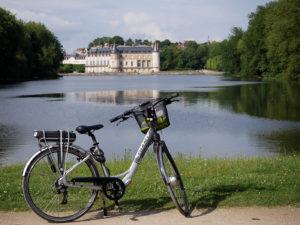 Le château de Rambouillet, à vélo