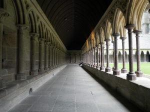 Cloître du Mont-Saint-Michel