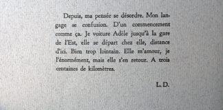 Loïc Demey - Je, d'un accident ou d'amour