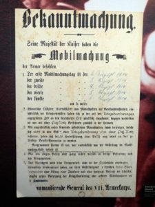 Ordre de mobilisation allemand