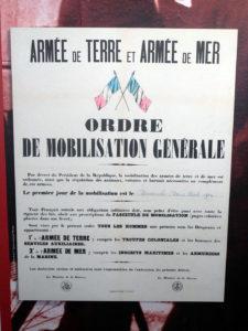 Ordre de mobilisation français