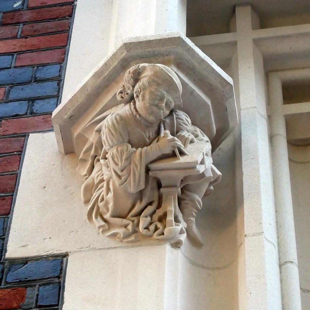 Sculpture Victor-Jules Février