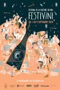 Affiche Festivini 2018 © Katarzyna Boguka