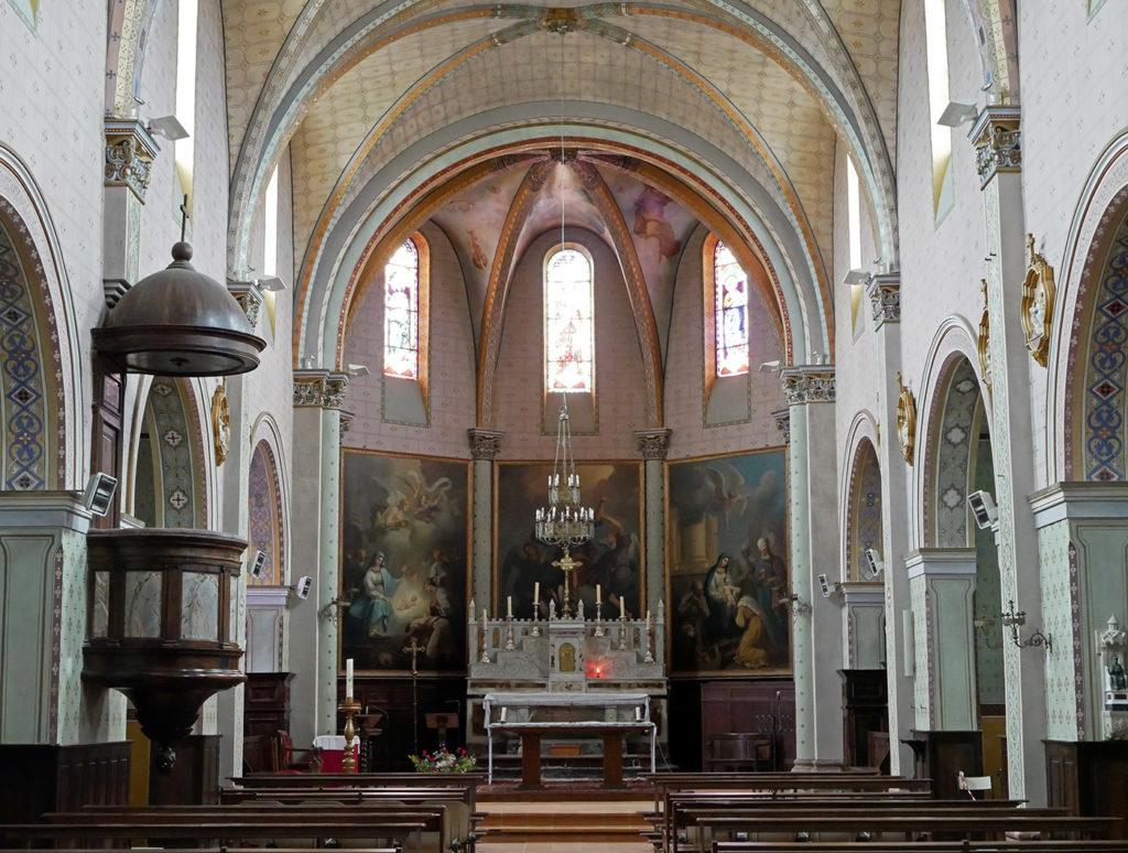Eglise de Montesquieu-Lauragais