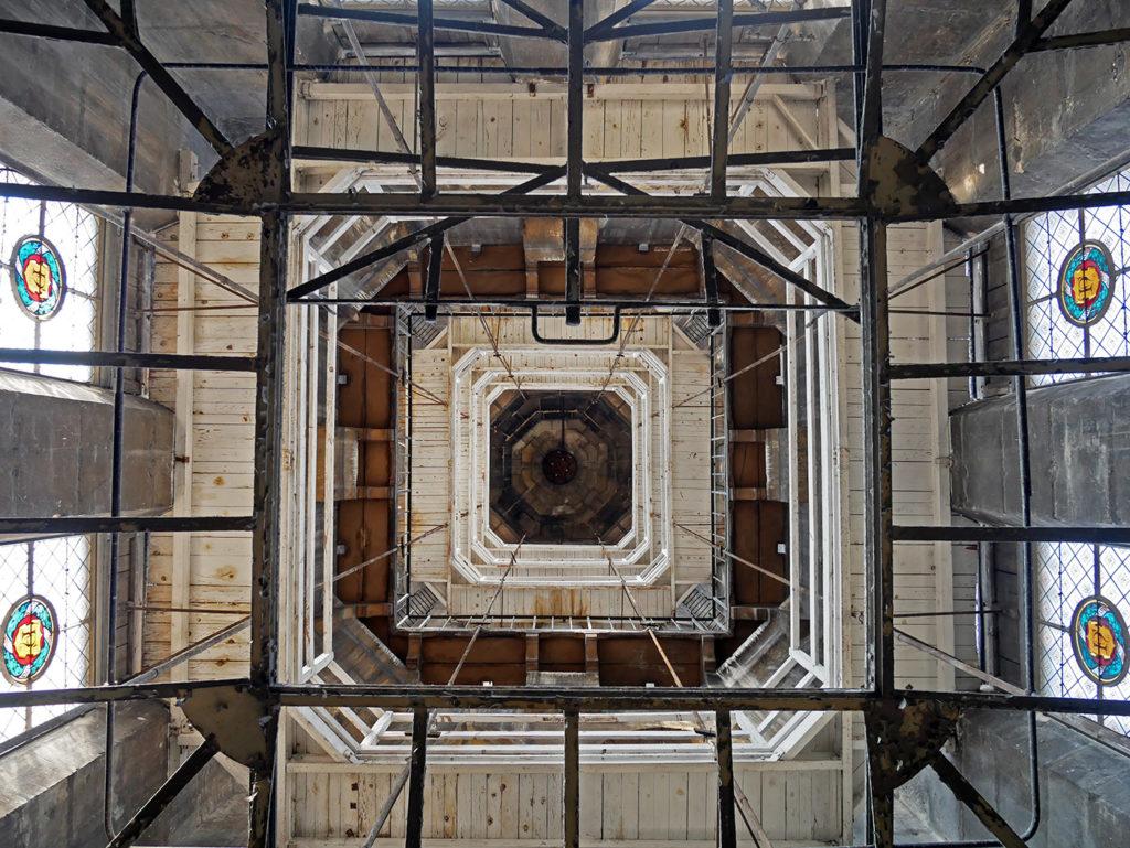 Intérieur de la Tour Saint-Jacques