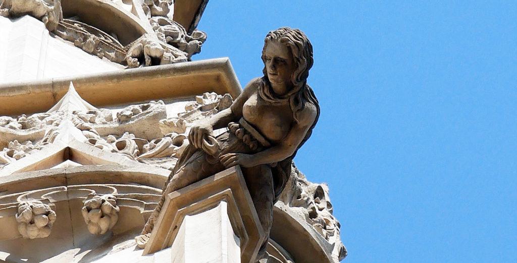 Une sirène sur la Tour Saint-Jacques !