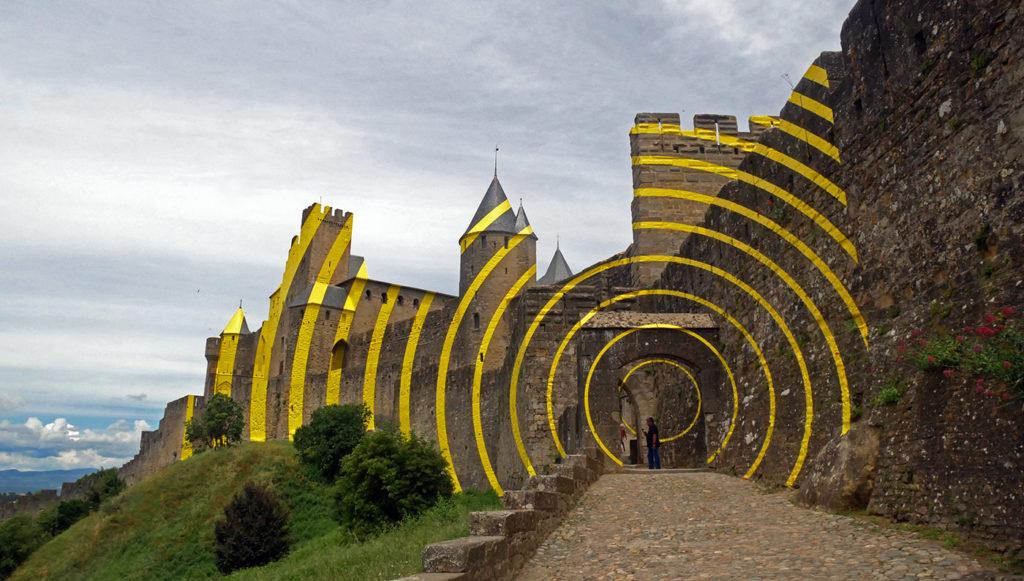 Felice Varini, Carcassonne