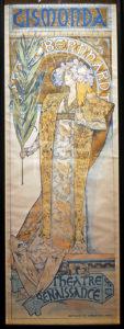 """""""Gismonda"""", La première affiche créée par Mucha pour Sarah Bernhardt"""