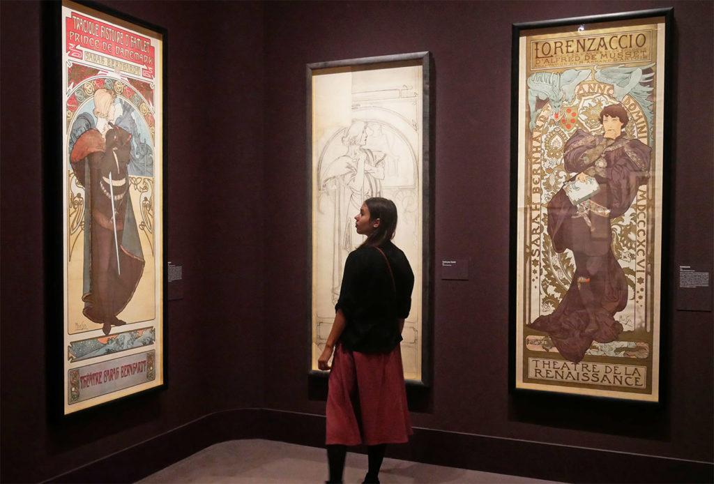 Affiches d'Alphonse Mucha