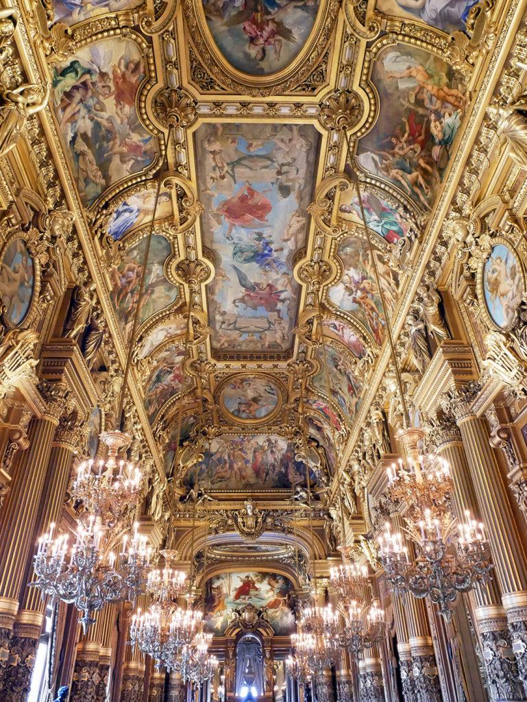 Grand foyer de l'Opéra Garnier