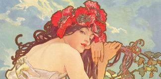 Alphonse Mucha, les Saisons, l'été