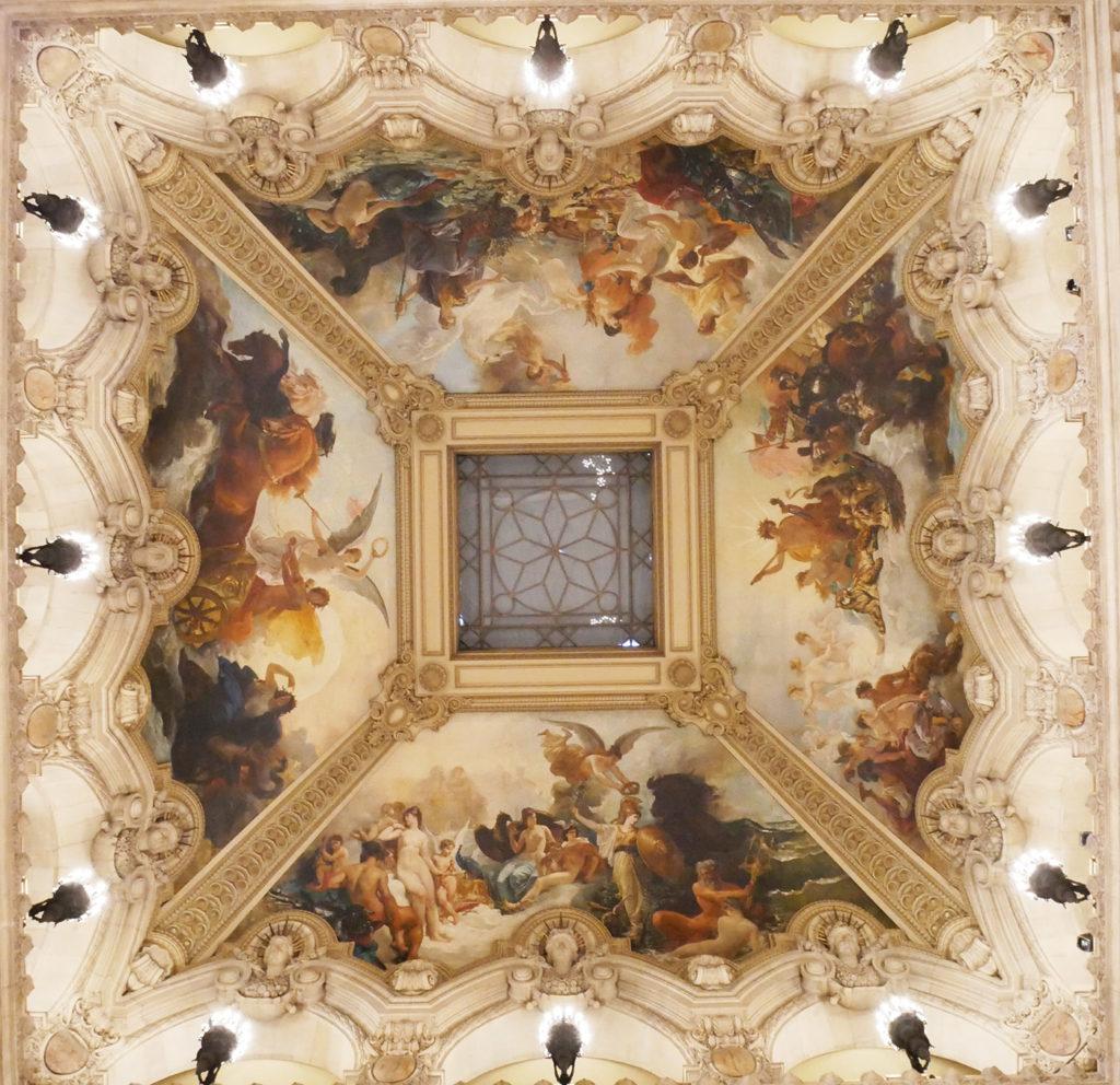 Plafond de l'Opéra de Paris