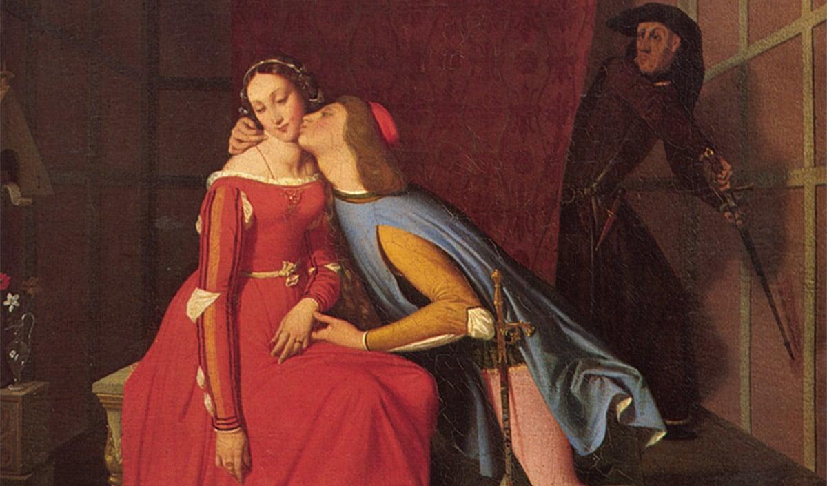 Paolo et Francesca Jean-Auguste-Dominique Ingres