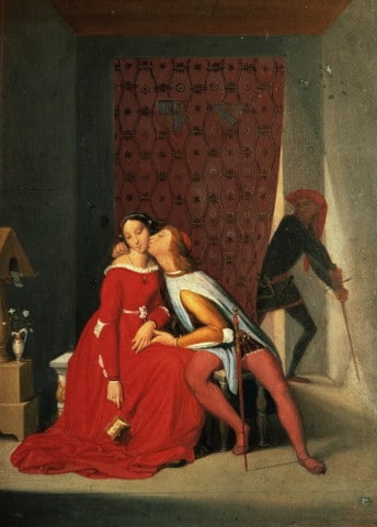 Paolo et Francesca, Ingres, Bayonne