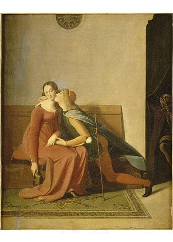 Paolo et Francesca, Ingres, musée Condé