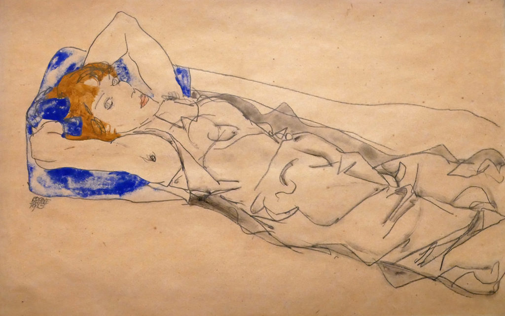 Egon Schiele, Wally Neuzil