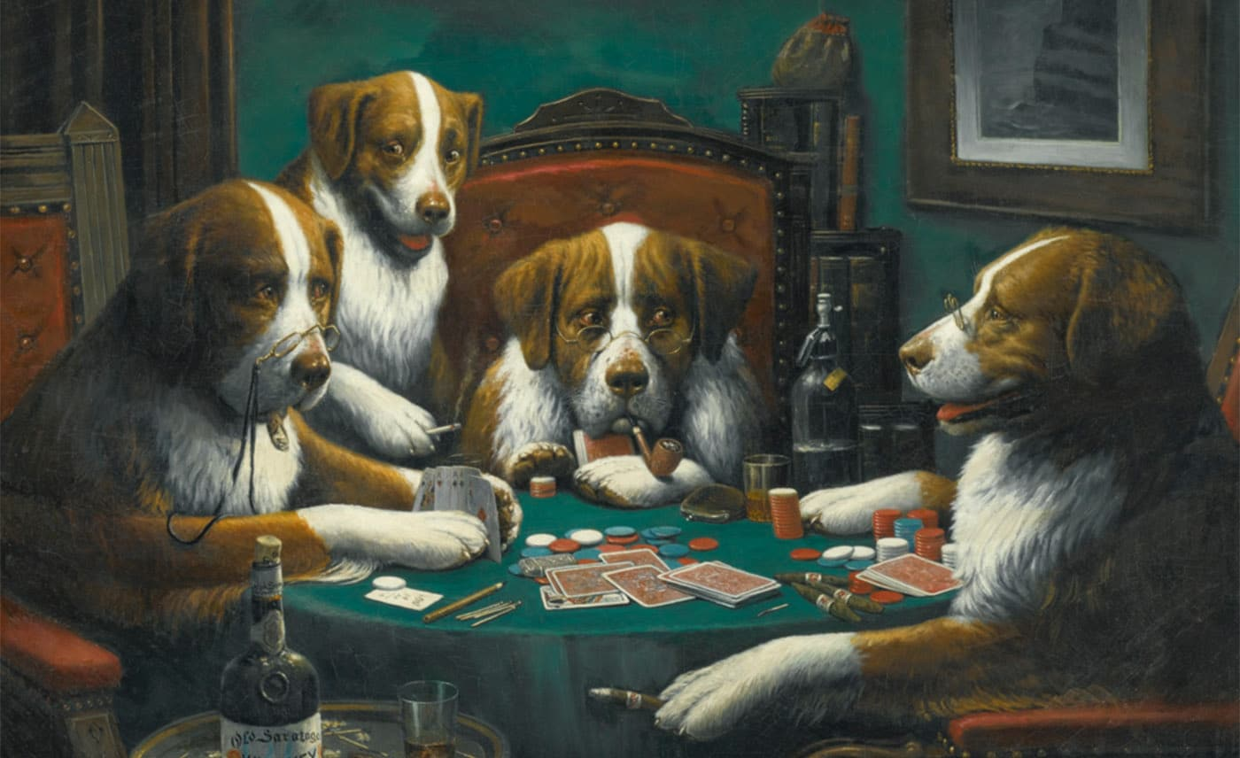 Cassius Marcellus Coolidge, Poker Game (1894)
