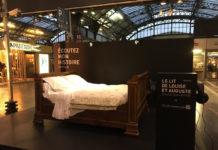 Le lit de Louise et Auguste, témoin de la Grande Guerre, en gare de l'Est