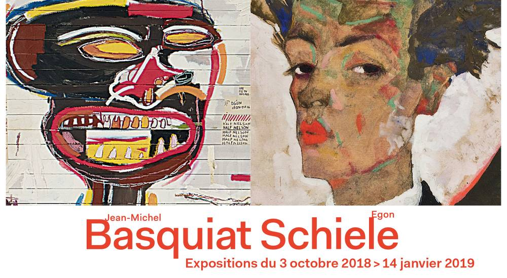 Expositions Schiele et Basquiat à la Fondation Louis Vuitton