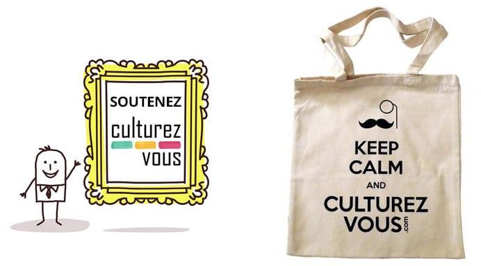 Totebag Culturez-vous