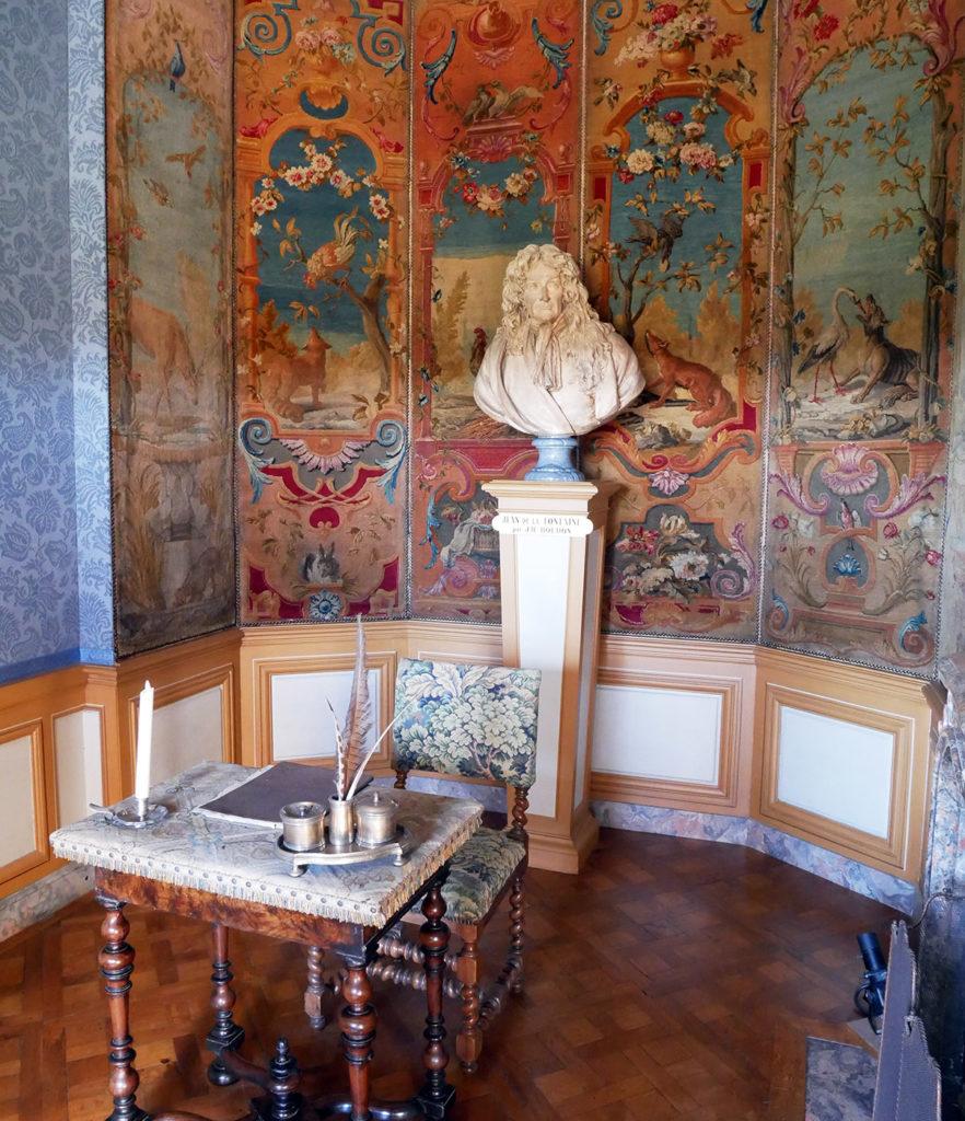 Vaux-le-Vicomte, cabinet Jean de la Fontaine