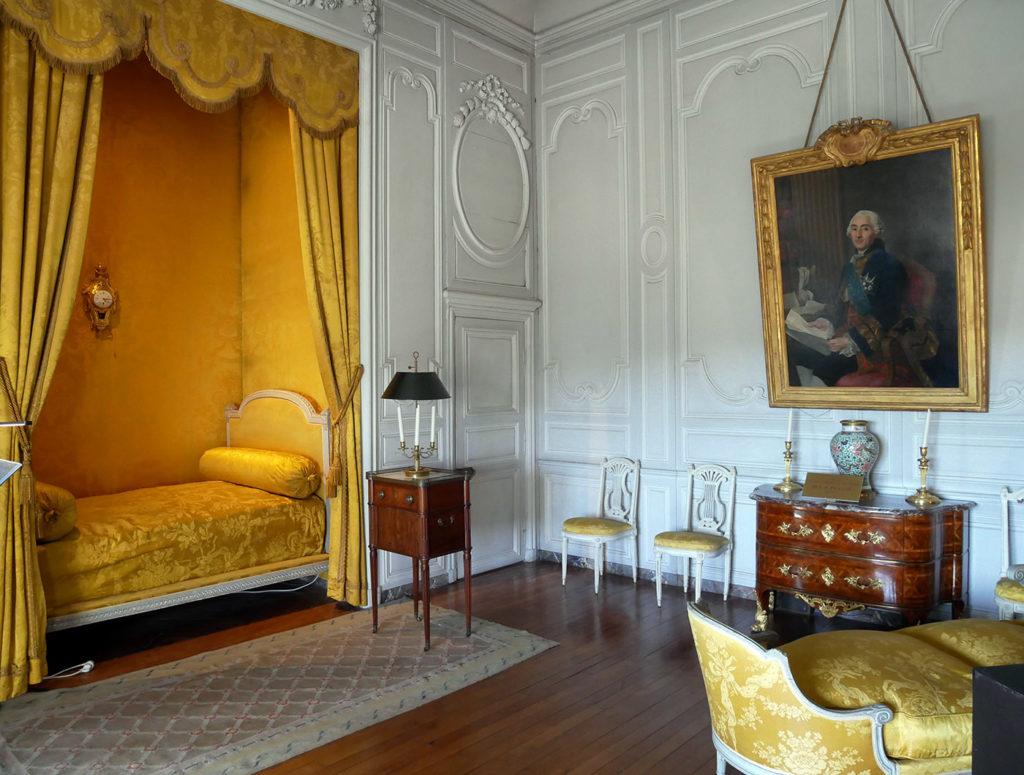 Vaux-le-Vicomte : chambre