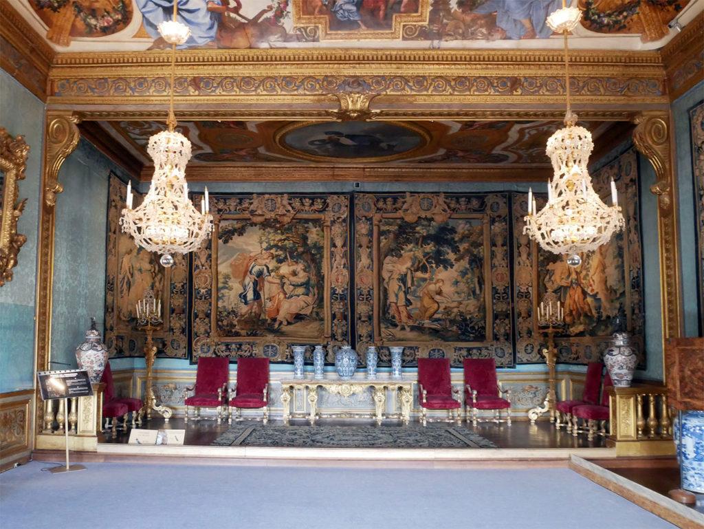 Vaux-le-Vicomte : chambre des muses