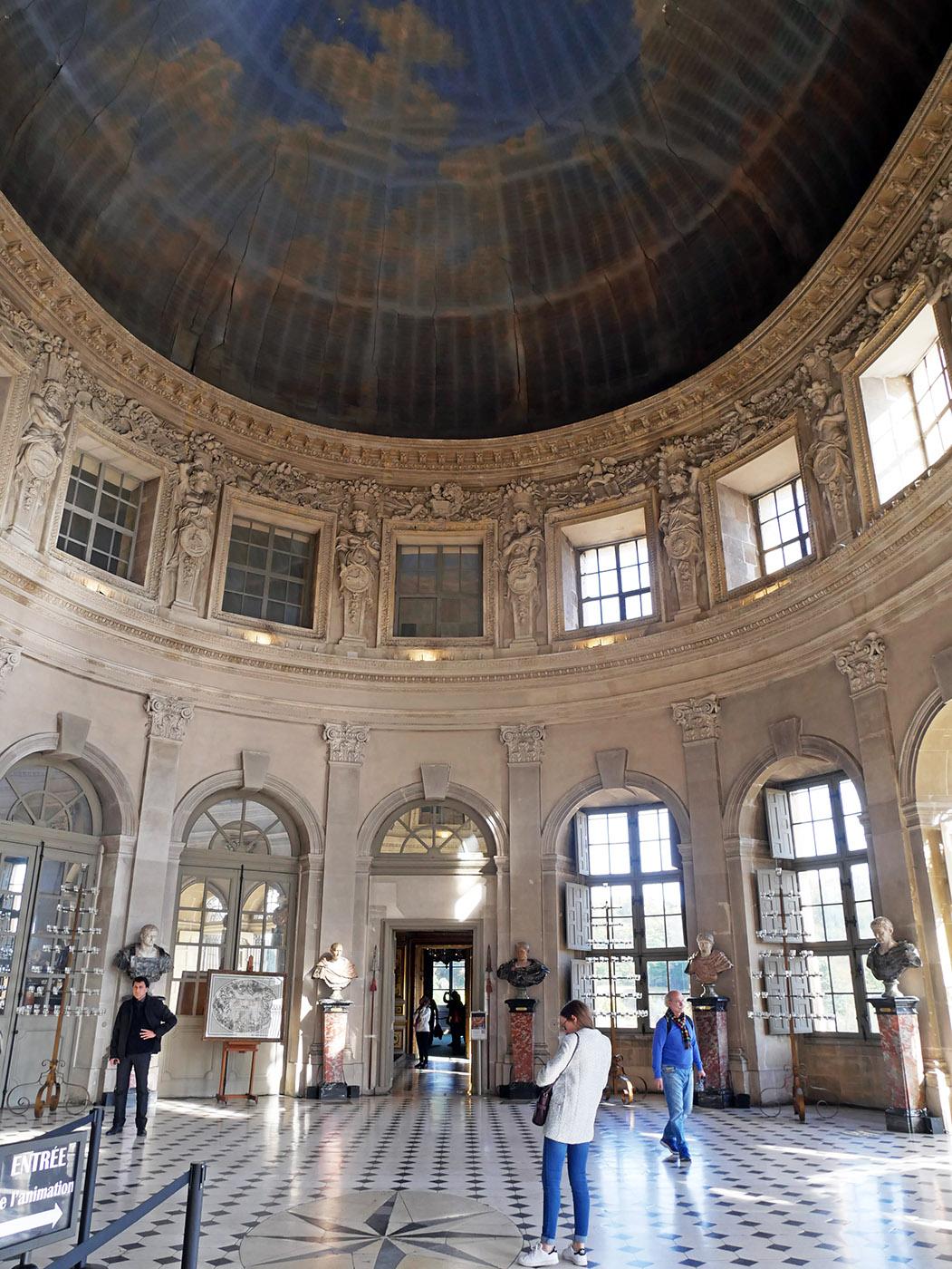Vaux-le-Vicomte : grand salon