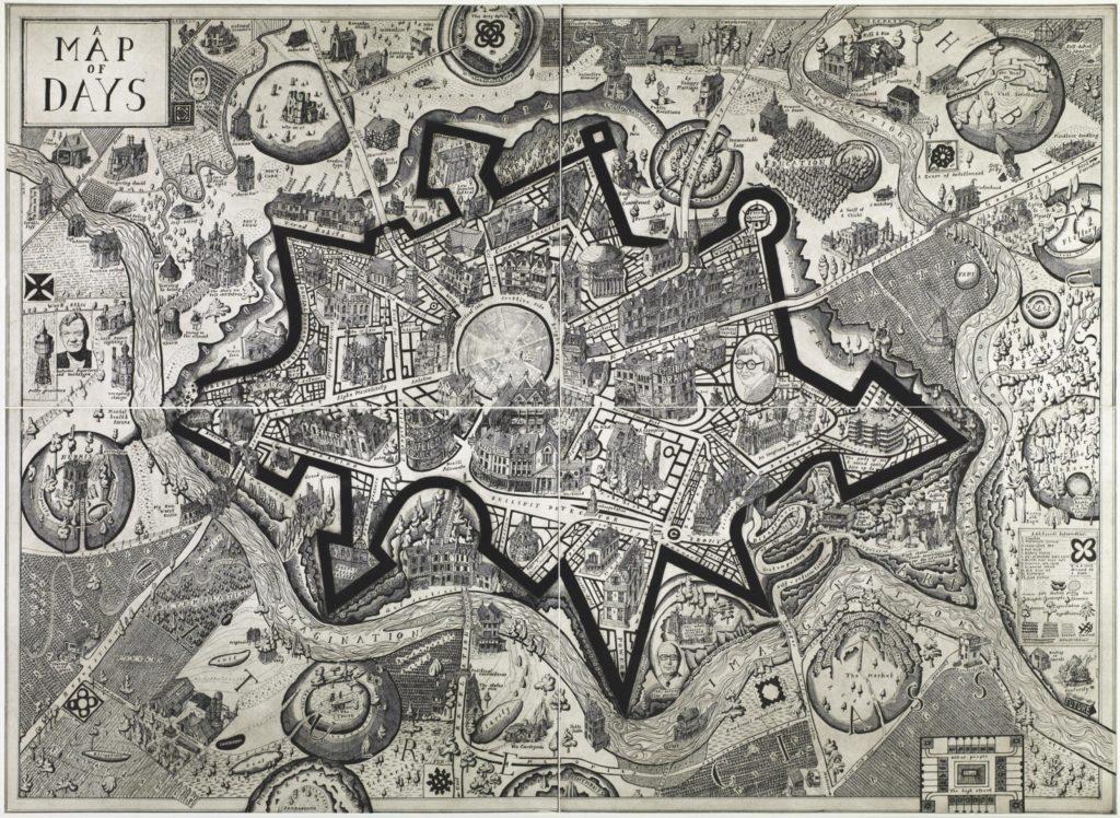 Grayson Perry, A Map Of Days (Une carte des jours), 2013 © DR