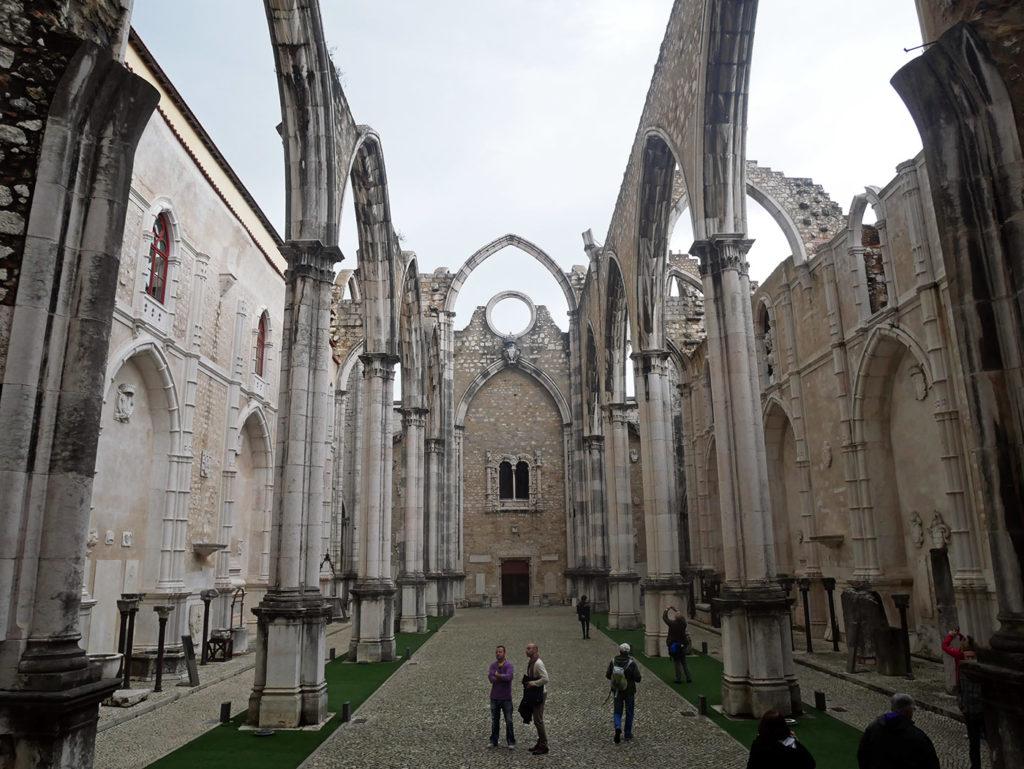 Couvent des Carmes, Lisbonne