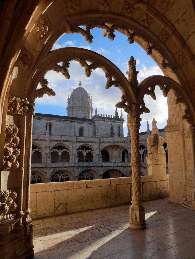 Mosteiro dos Jeronimos Lisbonne