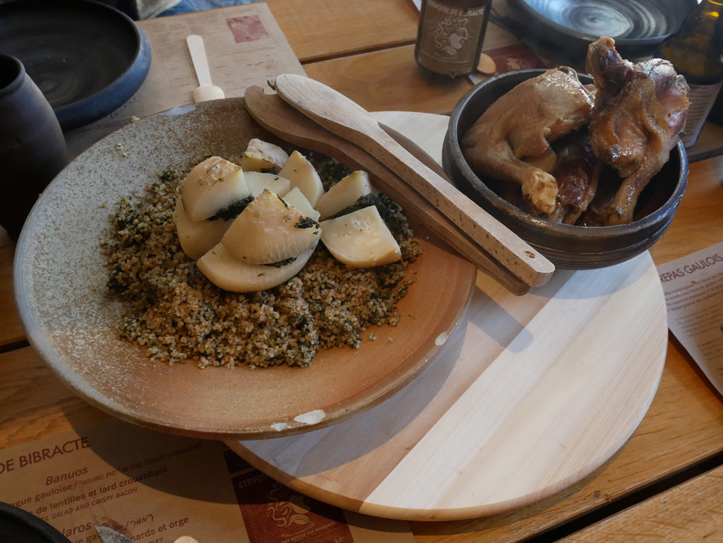 Restaurant Le Chaudron à Bibracte