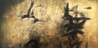 Zao Wou-Ki, Nous deux (détail)