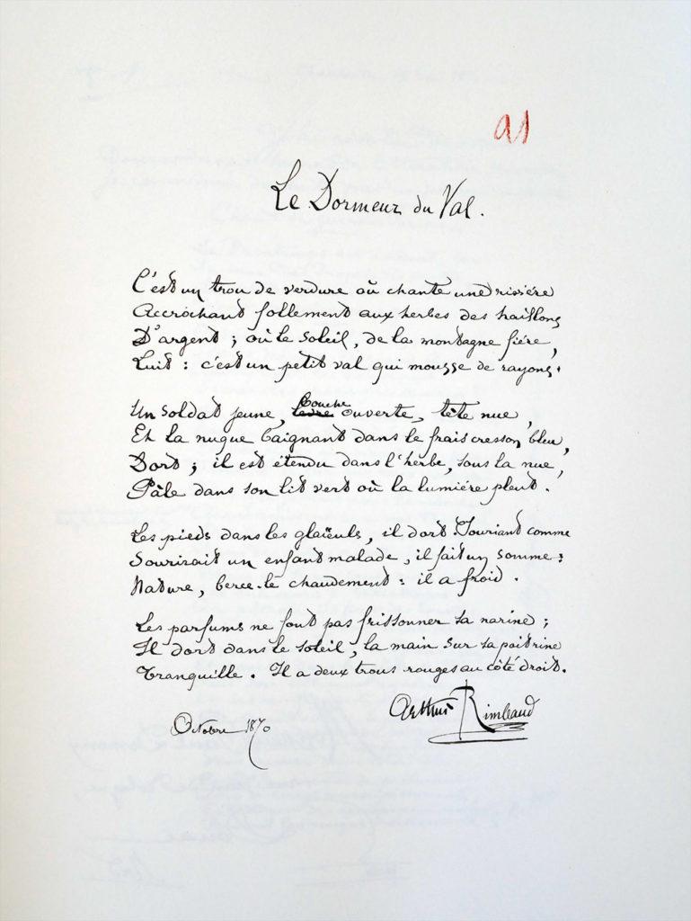Les Manuscrits De Rimbaud Publiés Aux éditions Des Saints