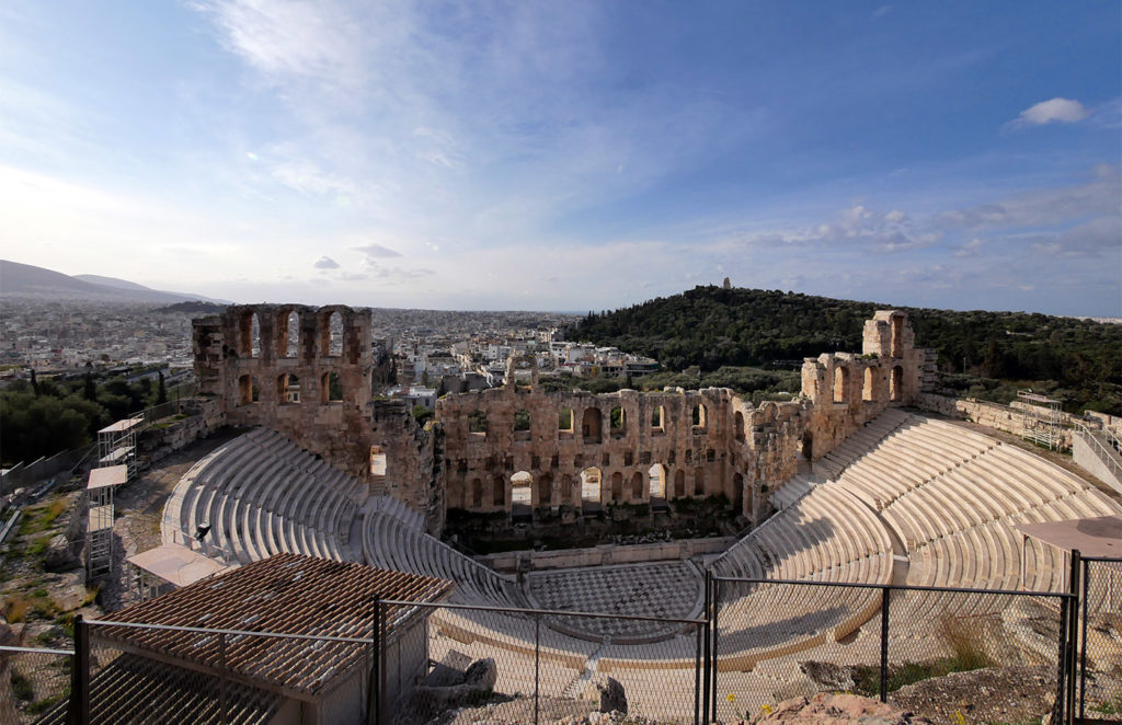 The Odeon in Athens