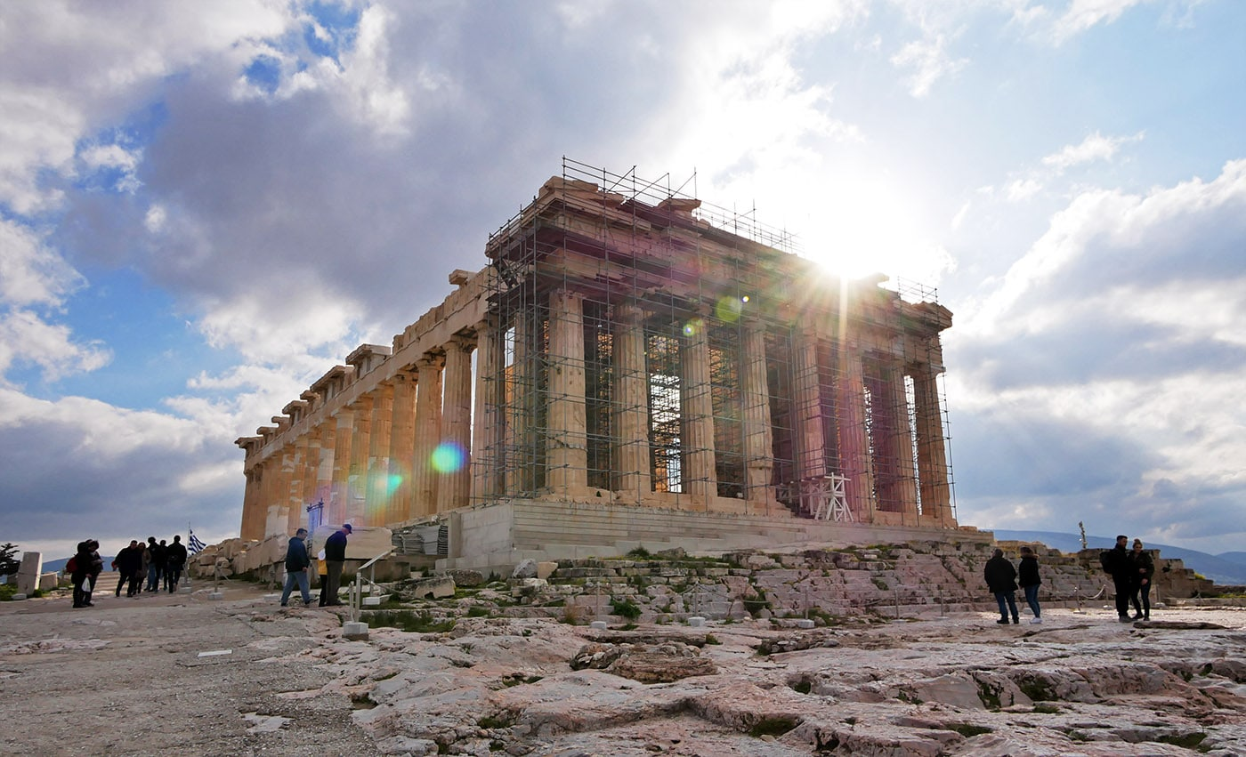 The Parthenon in Athens