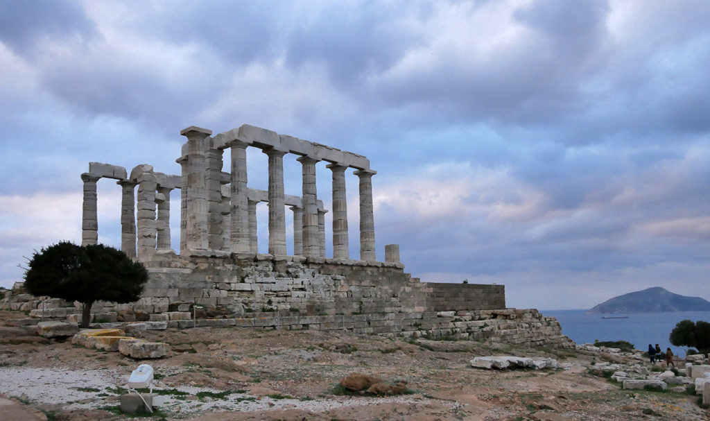 Temple de Poséidon à Cap Sounion