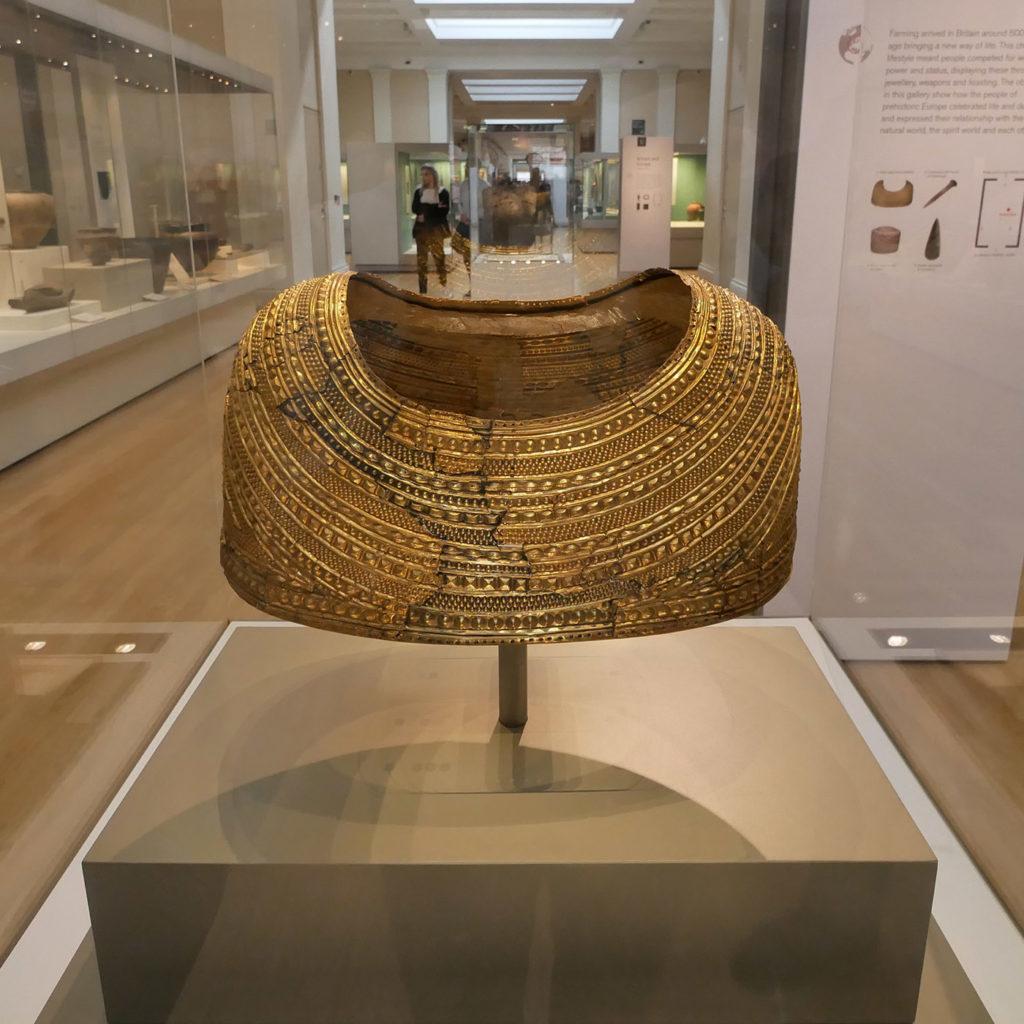 Mold cape, British Museum