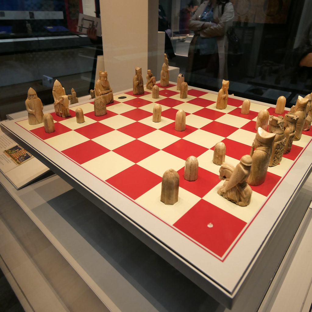 Ivory chess set, British Museum