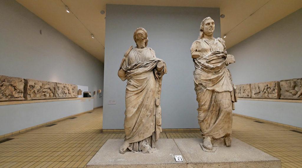 Remains of the Mausoleum, British Museum