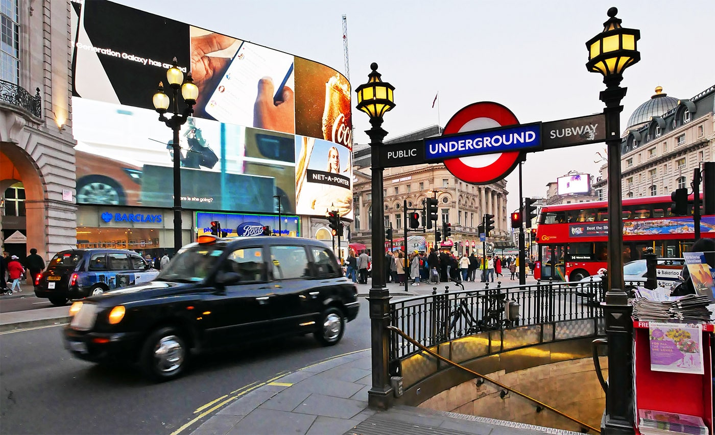 Londres, Piccadilly Circus