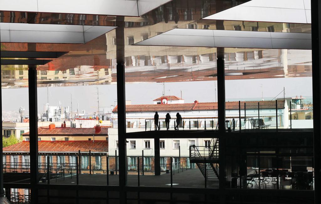 Vue depuis la terrasse du musée de la Reine Sofia