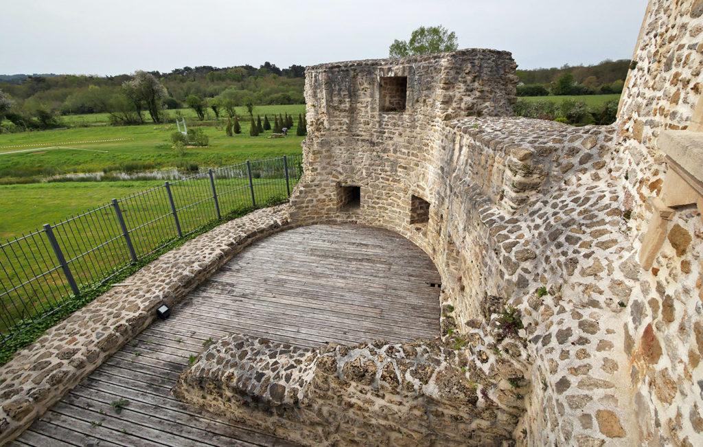 Ruines du château d'Hardelot
