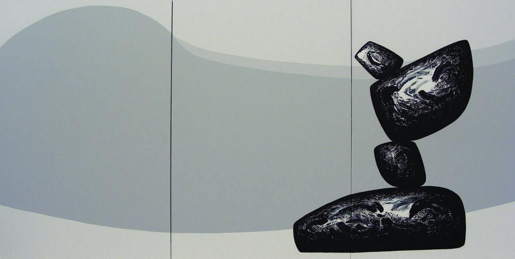 Ma Desheng, Sans titre, 2008, acrylique sur toile, 300 x 600 cm, ©A2Z Art Gallery