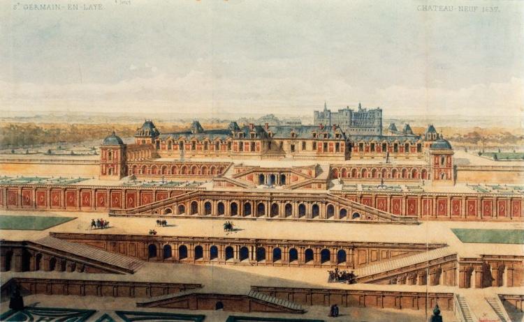 Le château neuf de Saint-Germain-en-Laye